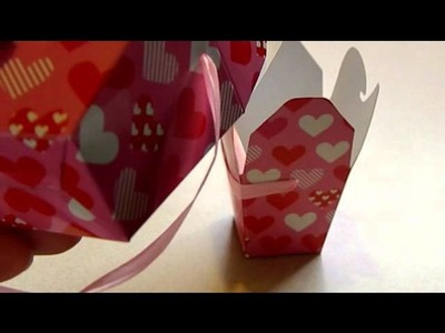 Homemade peat pots and a cheap but cute Valentine's Day idea