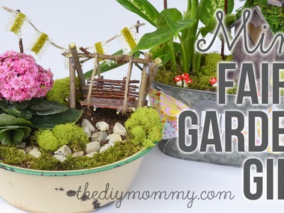 How to Make a DIY Miniature Fairy Garden Gift