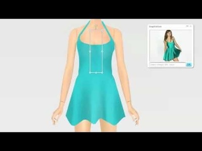 How to make a dress on Girlsense