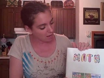 How to Make a Paper Book Cover with Comics and Puzzles