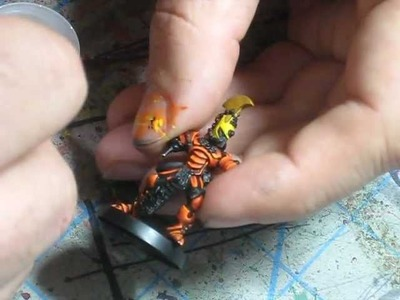 How to Paint Eldar Fire Dragon: Part Six by Jawaballs