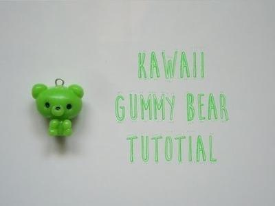 Kawaii Polymer Clay Gummy Bear Tutorial