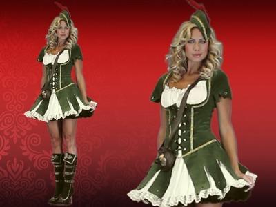 Lady Robin Hood Halloween Costume