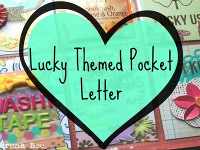 Lucky Themed Pocket Letter--Start To Finish