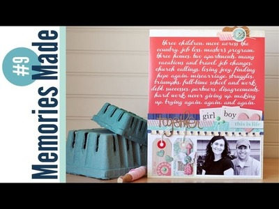 Memories Made #9 Scrapbooking Process Video: Together