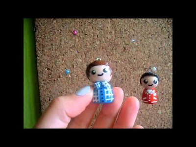 One Direction polymer clay chibis. ♥