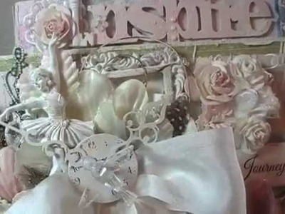 Shabby Chic Craft Caddy