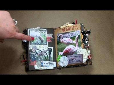 7Gypsies Travel Mini Album - Disney Adventure