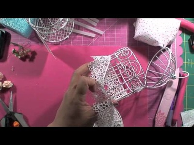 By Request - Tutorial Birdcage Pin Cushion