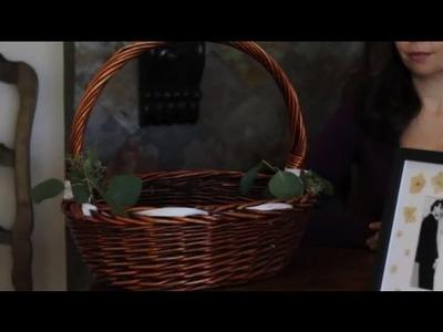 Decorating Wedding Baskets : Wedding Decor