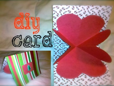 DIY: Boyfriend Heart. Love Card: 12 Days of Crafting