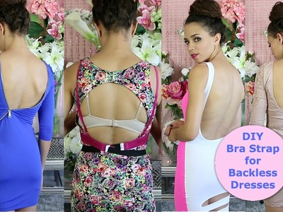 DIY Bra Strap Extension for Backless Tops & Dresses