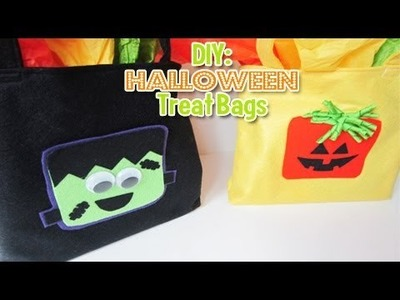 DIY: Halloween Treat Bags and GIVEAWAY 2 WINNERS [CLOSED] (Day 3: Halloween Week)