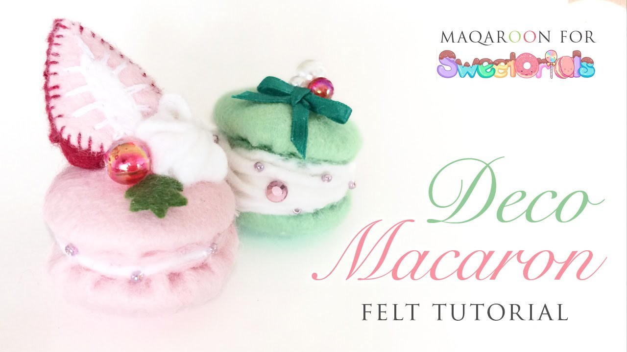 Fancy Felt Macarons - Cute and Easy To Make!