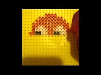 How To Make A Perler Bead PAC Man Ghost!