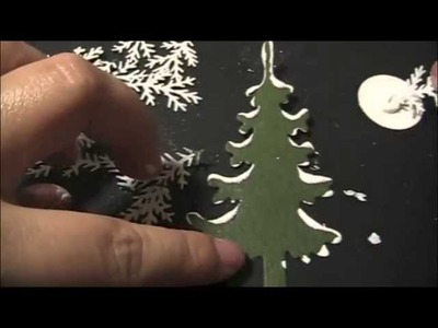 How to make Snowy PIne Trees.m4v