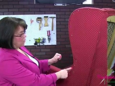 Learn To Upholster This Wingback Settee