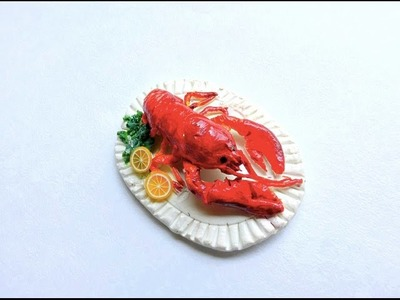 LOBSTER   polymer clay tutorial