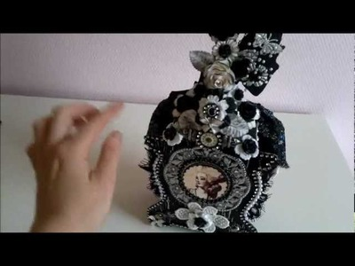 Marie Antoinette black and white box and mini album part 1