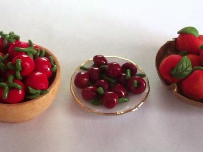 ~Miniature polymer clay food~
