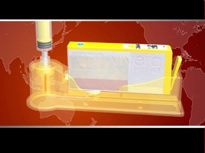 PrintPayLess Brand DIY smart refilling system for HP 920, HP 920xl, HP 564, HP564xl