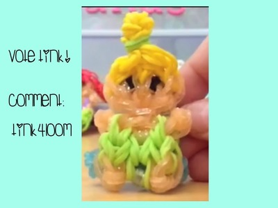 Rainbow Loom Cute (Kawaii) Tinker Bell Tutorial