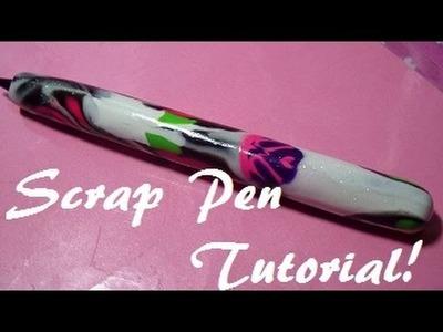 Scrap Polymer Clay Pen Tutorial!