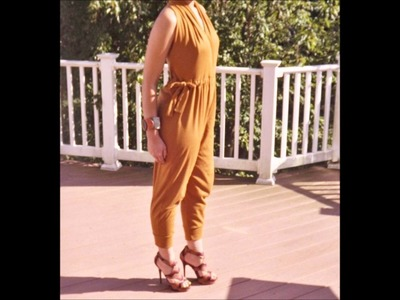 See and Sew: DIY Jumpsuit