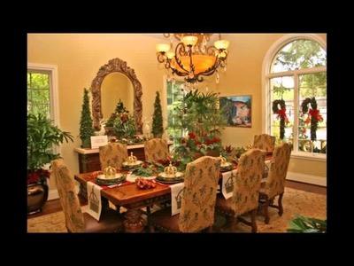 Tuscan Dining Room Decor