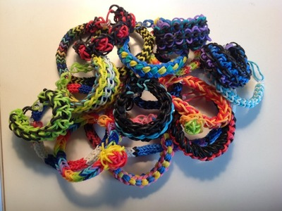 AllysBracelets Rainbow Loom Collection video and bracelet ideas