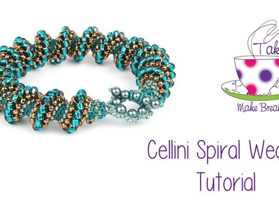 Cellini Spiral Weave ❤️‍ | Take A Make Break with Sarah Millsop