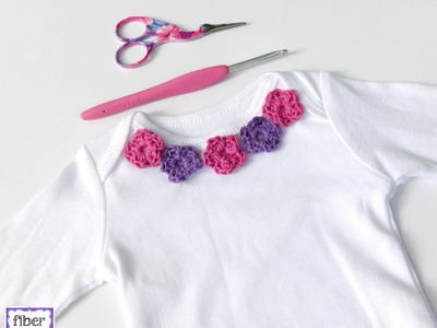 Episode 208: How To Crochet the Sweet Floral Infant Shirt