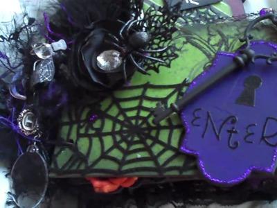 Halloween Mini Album #2 Ravenhead Manor
