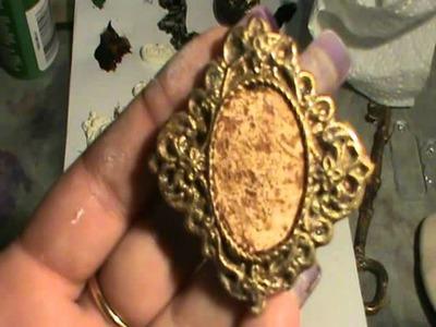 Handmade embellishments polymerclay