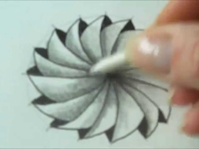 How to draw tanglepattern Phicops in a circle