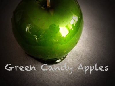 How To Make Candy Apples for Halloween
