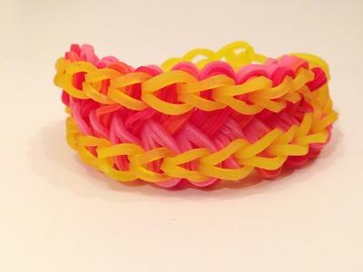How To Make The Electric Eel Rainbow Loom Bracelet