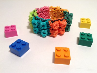 Lego Everything is Awesome Bracelet Tutorial
