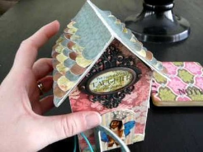Lil' Girl Chipboard House