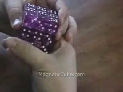 My solve of the magnetic dice rubik's cube