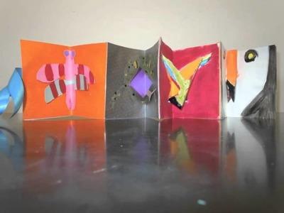 Pop-up books, Dragons & Parrots.m4v