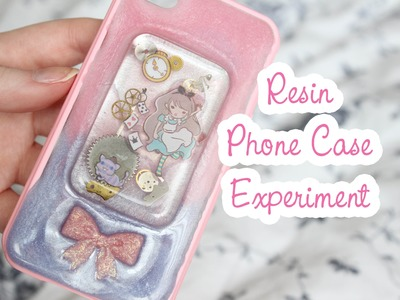 Resin Phone Case Experiment
