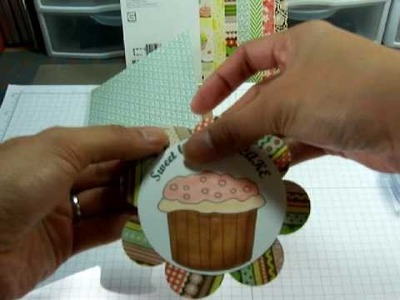 The Cutting Cafe` - Sweet Little Cupcake