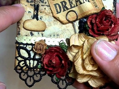 Vintage Inspired Grungy Tag!! (WOC project)