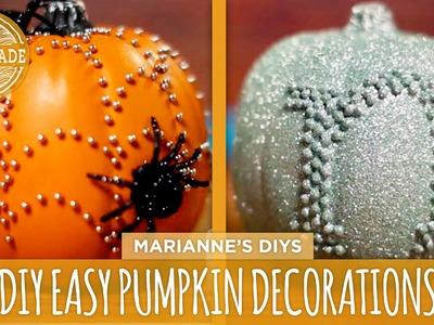 3 Easy DIY Pumpkin Decorations - HGTV Handmade