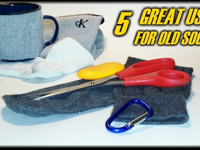 5 Great Uses For Old Socks! -