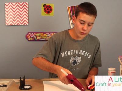Crayon Art Teen Craft