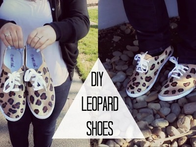 DIY Leopard Shoes!