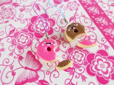 Donuts Friendship Charm - Polymer Clay Tutorial