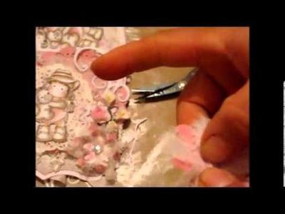 DT Shabby Chic Flower TUT n Discountcrafts1 updates